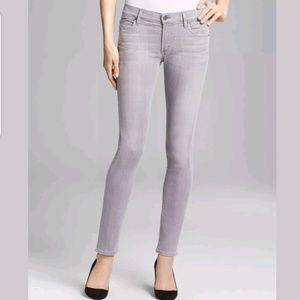 COH Mandy High Waist Retro Slim Roll Up Jeans